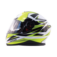 Zox Z-FF10 Svs Full Face Helmet Yellow View