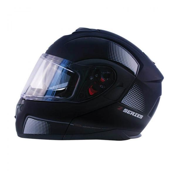 Zox Z-Mod10 Atom Modular Helmet Black View