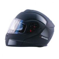 Zox Z-Mod10 Atom Modular Helmet Matte Black