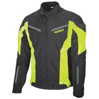 Fly Racing Strata Jacket Black/Yellow