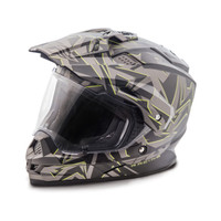 Fly Racing Trekker Nova Helmet Gray