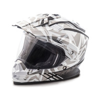 Fly Racing Trekker Nova Helmet Gray/White