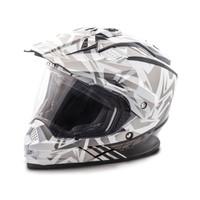 Fly Racing Trekker Nova Helmet Gray/White