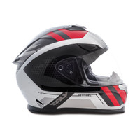 Fly Racing Sentinel Mesh Helmet Red/White