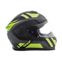 Fly Racing Sentinel Mesh Helmet Black/Yellow