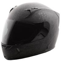 Fly Racing Revolt Ink 'N Needle Helmet Black