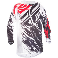 Fly Racing Youth Kinetic Relapse Mesh Jersey Red