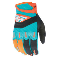 Fly Racing Youth F-16 Gloves Orange
