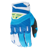 Fly Racing Youth F-16 Gloves Blue
