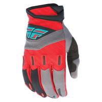 Fly Racing Youth F-16 Gloves Red