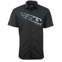 Fly Racing Pit Shirt Black