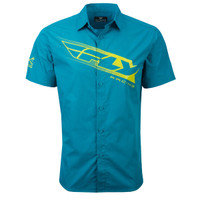Fly Racing Pit Shirt Blue