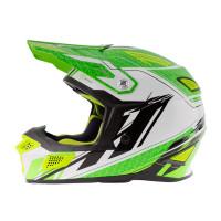 Zox Z-MX10 Off Road Helmet Hi-Viz Green View