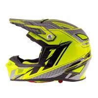 Zox Z-MX10 Off Road Helmet Hi-Viz/Yellow View