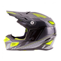 Zox Z-MX10 Off Road Helmet Dark Silver View