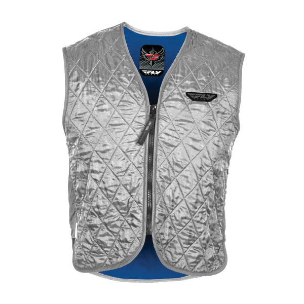 Fly Cooling Vest Silver Vest View