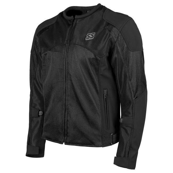 Speed And Strength Midnight Express Mesh Jacket Black