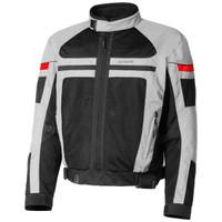 Olympia Newport Mesh Tech Jacket Silver