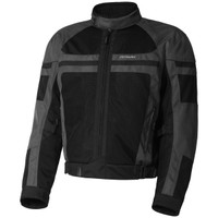 Olympia Newport Mesh Tech Jacket Gray