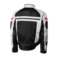 Olympia Newport Mesh Tech Jacket Silver Back