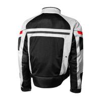 Olympia Newport Mesh Tech Jacket Silver Back