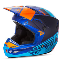Fly Racing Youth Kinetic Elite Onset Helmet Blue