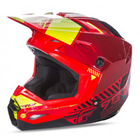 Fly Racing Youth Kinetic Elite Onset Helmet Red