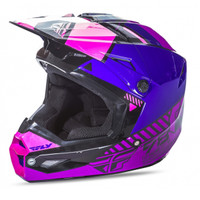 Fly Racing Youth Kinetic Elite Onset Helmet Purple