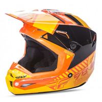 Fly Racing Youth Kinetic Elite Onset Helmet Orange