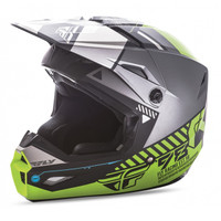 Fly Racing Youth Kinetic Elite Onset Helmet Yellow