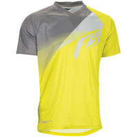 Fly Racing Super D Jersey Lime