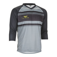 Fly Racing Ripa 3/4 Jersey Black/Gray