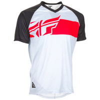 Fly Racing Action Elite Jersey White/Black