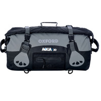 Oxford Aqua T-30 Roll Bag Black/Gray View