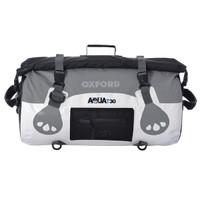 Oxford Aqua T-30 Roll Bag  White/Gray View
