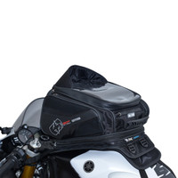 Oxford S30R Strap-On Tank Bag On Bike View