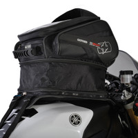 Oxford S30R Strap-On Tank Bag Height Expanded View