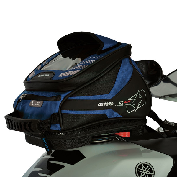 Oxford Q4R Tank Bag Blue View