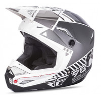 Fly Racing Elite Onset Men's Helmet White