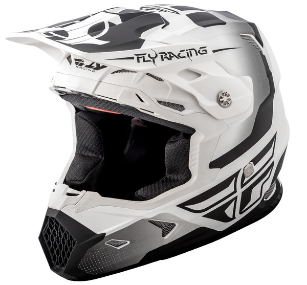 Fly Racing Youth Toxin Helmet White