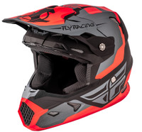 Fly Racing Youth Toxin Helmet Gray/Red