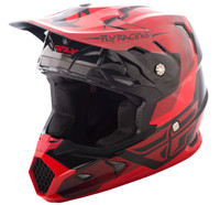 Fly Racing Youth Toxin Helmet Red