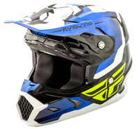 Fly Racing Youth Toxin Helmet Blue