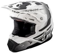 Fly Racing Toxin Original Men's Helmet White