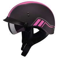 GMax GM65 Twin Full Dressed Half Helmet Pink