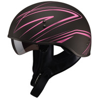 GMax GM65 Naked Torque Half Helmet Pink