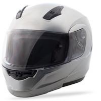 GMax MD04 Modular Street Helmet Silver