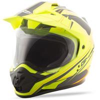 GMax GM11 Expedition Helmet Yellow/Black