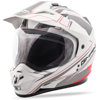 GMax GM11 Expedition Helmet White/Red