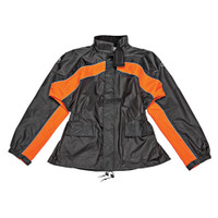 Joe Rocket RS 2 Two Piece Rainsuit Orange